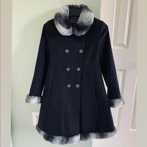 Black Rothschild Girls' Coat
